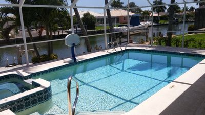 Photo for Last one in South Quad! Southern Exp Waterfront Pool Home ! Walk to Beach