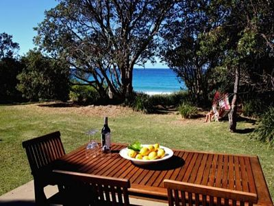 Photo for ABSOLUTE BEACHFRONT MOLLYMOOK - Direct beach access !