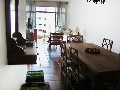 Photo for Large 3 bedroom apartment, all with air, 3 blocks from the beach of the Bay