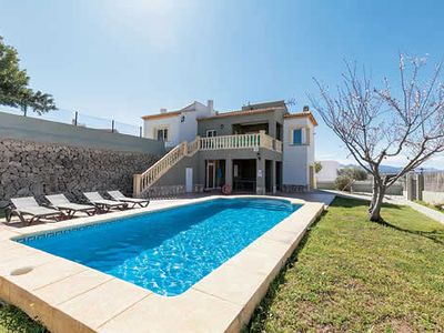 Photo for Countryside views, A/C in bedrooms, own pool, table tennis, an easy drive to resort of Javea.
