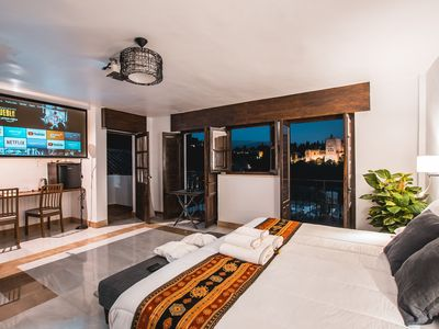 Photo for Junior Suite Albaicin cinema with Alhambra view