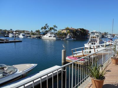 Photo for Huntington Beach & On The Water, Private Dock, And Pet Friendly!