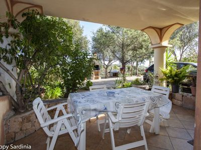 Photo for Small villa with large garden and BBQ area
