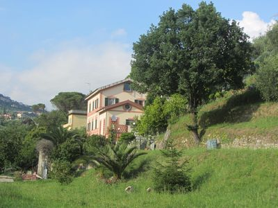 Photo for Romantic apartment in villa equipped with every comfort, near the Cinque Terre