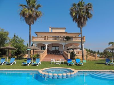 Photo for Spacious Villa with Private Pool, Large Garden and its own Natural Well with Drinking Water!
