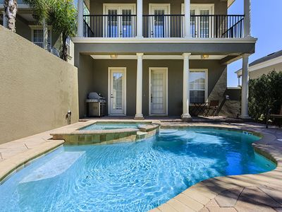 Photo for Luxury on a budget - Reunion Resort - Amazing Cozy 4 Beds 4 Baths  Pool Villa - 6 Miles To Disney