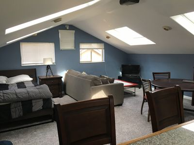 Photo for Fully Furnished Private Studio with 5 skylights 1 block from Wash Park