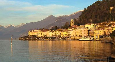 Bellagio is beautiful all year round. The lake enjoys its own micro climate.