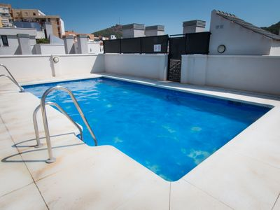 Photo for Refino.Apartment near the historic center of Málaga with communal pool