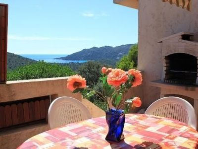 Photo for VILLA VIEW ON GULF OF SANTA GUILLIA FOR 8 PEOPLE OR FOR 12 PEOPLE
