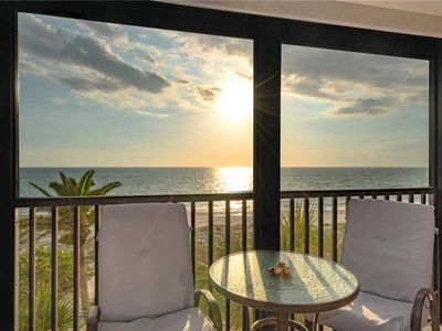 Photo for Reflections on the Gulf 405,  Sleeps 6, 2 Bedroom, Gulf Front ,Pool, Spa, WiFi