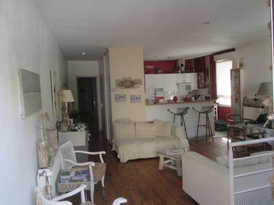 Photo for Charming apartment, everything on foot or by bike. Heart of Capbreton