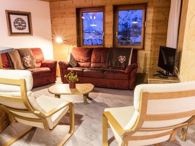 Photo for Nice apartment in traditional chalet in Bonneval sur Arc - 6 Rooms13 people