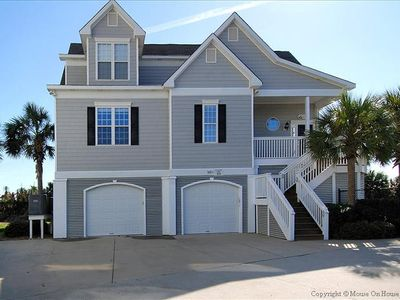 Photo for The Pinnacle, 6 Bedroom, 5 Bath, Sleeps 18, Oceanfront, Private Beach Walkover!