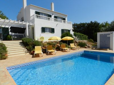 Photo for Luxury detached villa sleeps 4/5 own pool, close to Lagos, very private, free wf