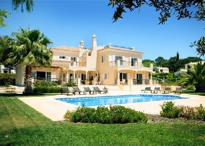 Photo for STUNNING 5 BEDROOM DUNAS DOURADAS VILLA WITH PRIVATE HEATABLE POOL. CLOSE TO GARRAO BEACH G108