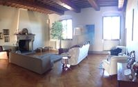 This is an amazing place to stay with an stunning view over the Tuscan countryside.