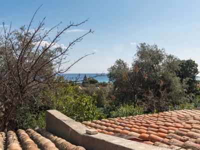 """Photo for Comfortable """"Villa Martina"""" with Sea View, Wi-Fi, Garden & Terrace; Parking Available; Pets Allowed"""