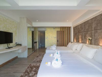 Photo for H Luxury Sea view room with balcony Nice pool