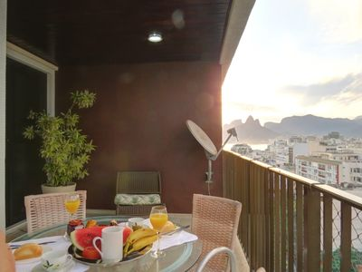 Photo for IPANEMA & CUP 180º VIEW 2-B A1-002