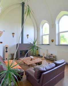 Photo for Charming converted chapel - house in Eprave