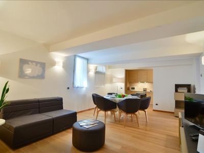 Photo for Prendiparte apartment in Bologna with WiFi, integrated air conditioning & lift.