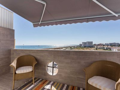Photo for PENTHOUSE (5 stars) Front Sea Direct access Vilamoura - walk of the dunes.