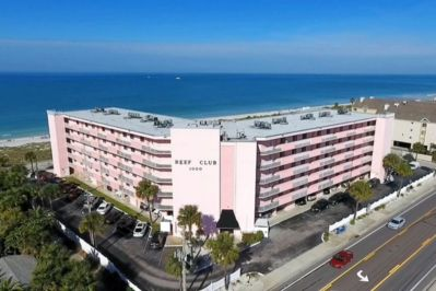 Convenient location right on the Gulf of Mexico.