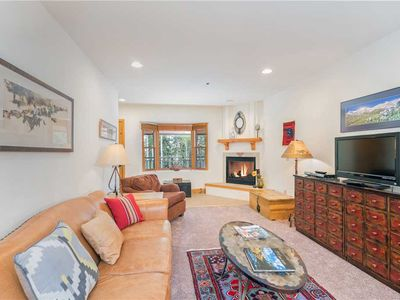 Photo for Spacious Pet-Friendly 2-Bedroom Condo Tucked in the Woods