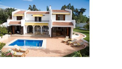 Photo for Private pool + garden, quiet + only 400 m to the beach. WHEELCHAIR SUITE!