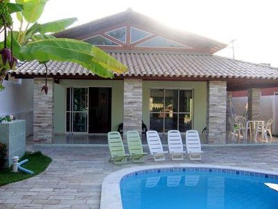 Photo for House in Paradisiacal Serrambi Beach 8 Km from Po - 4 BEDROOMS AND 5 WC