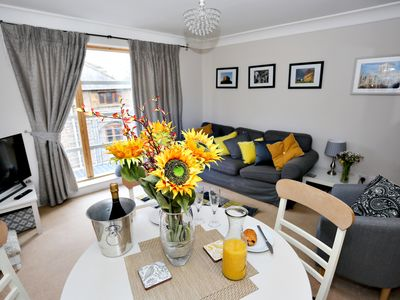 Photo for Emperors Wharf City Centre Apartment with balcony