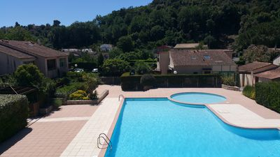 Photo for Villeneuve Loubet Provencal House wooded 2 rooms with parking