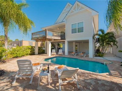 Two Minute Walk to the Beach with Private Pool!