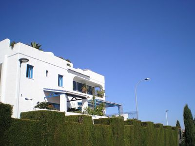 Photo for South-facing terrace, sea views, enjoy without moderation.