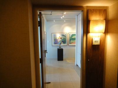 Entrance to Suite 802 at The Whaler.