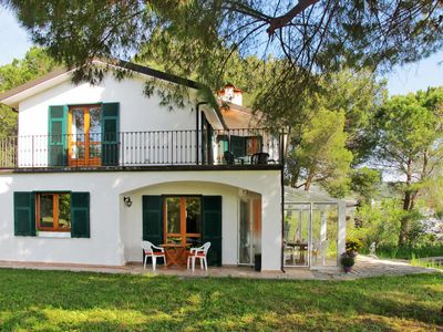 Photo for 4 bedroom Villa, sleeps 9 in Caramagna Ligure with Pool and WiFi