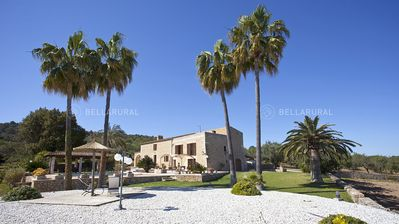 Photo for SPACIOUS MAJORCAN FINCA WITH STUNNING VIEWS