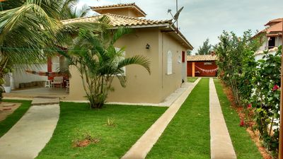 Photo for Beautiful house with garden (Figueira) .Recanto between the Sea and the Lagoon. Your family deserves it!