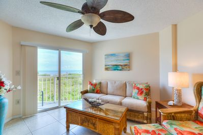 Sit Back and Relax. Enjoy Ocean Views from the Living Room.