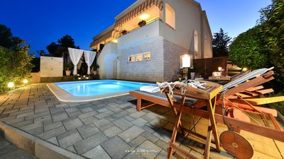 Photo for Lovely villa with private pool near Zadar