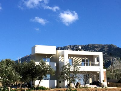 Photo for VILLA TRIANTAFILIA: New Luxury Mountain Villa for 8 in central Kos near beach