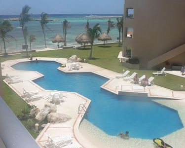 Photo for Beachfront Luxury Vacation Puerto Aventuras, Cancun, Mexico