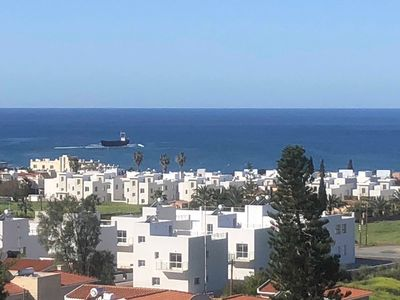Photo for 100 sqm apartm. 300 m from the beach to St. George's Beach with ocean views