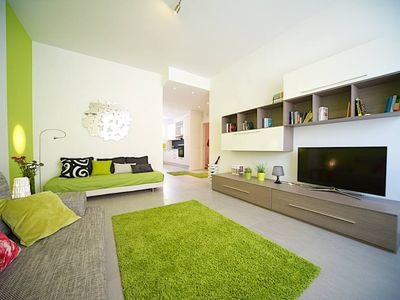Photo for Rome: Renovated and comfortable apt between the famous districts of Trastevere and Testaccio
