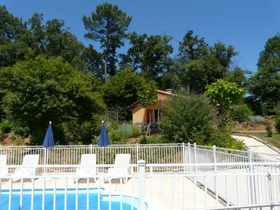Photo for Les Hauts du Coustalier, cottage Rubis for 5 people with heated pool