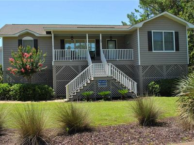 Photo for Barefoot Days: 3 BR / 2 BA house in Pawleys Island, Sleeps 8