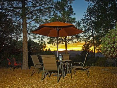 Photo for Pine Hill Guest House - Midpines / Yosemite : Privacy with a View
