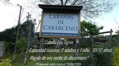 Photo for Cabins of Cabarceno - Cabaña Los Tigres