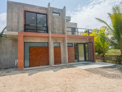 Photo for 2 Floor Modern Holiday Home A Block From The Beach